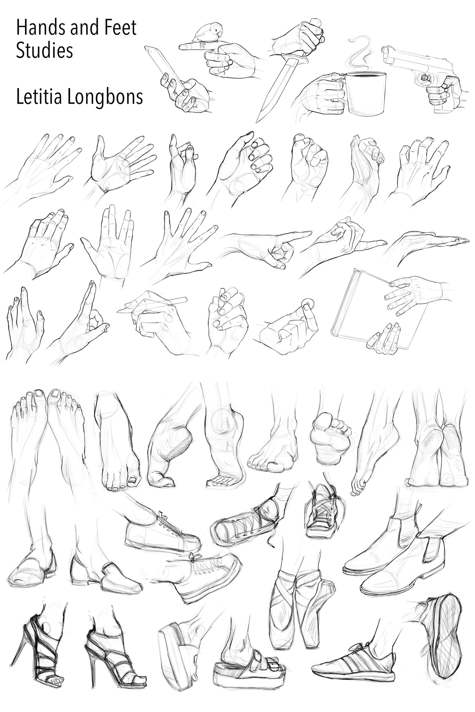 Hands and Feet Studies
