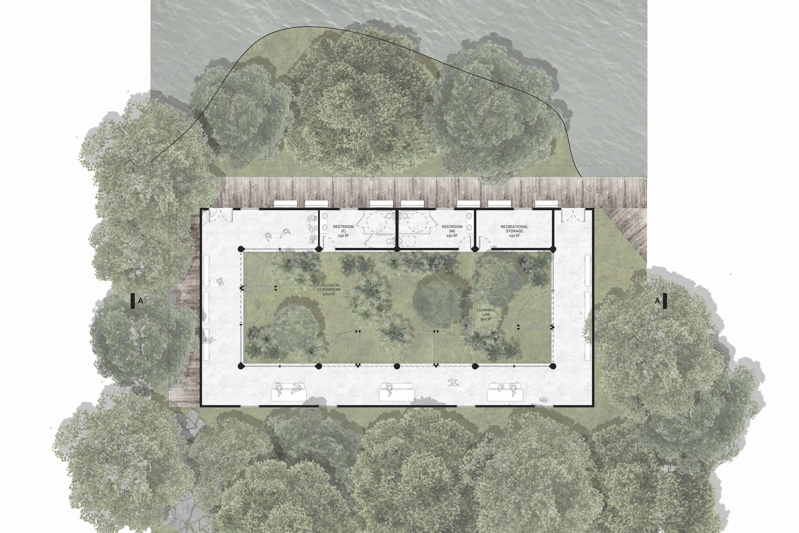 Eco-Tecture - Unifying Ecology with Architecture - Floor Plan