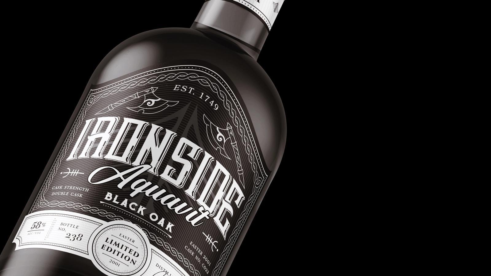 Ironside Aquavit // Product Packaging