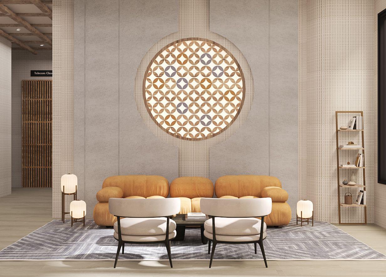 Jikan Galleria - Seating Area Focal Wall