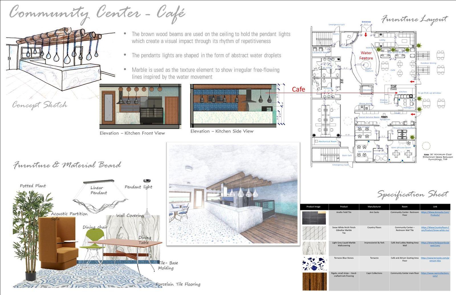 Community Center, Café