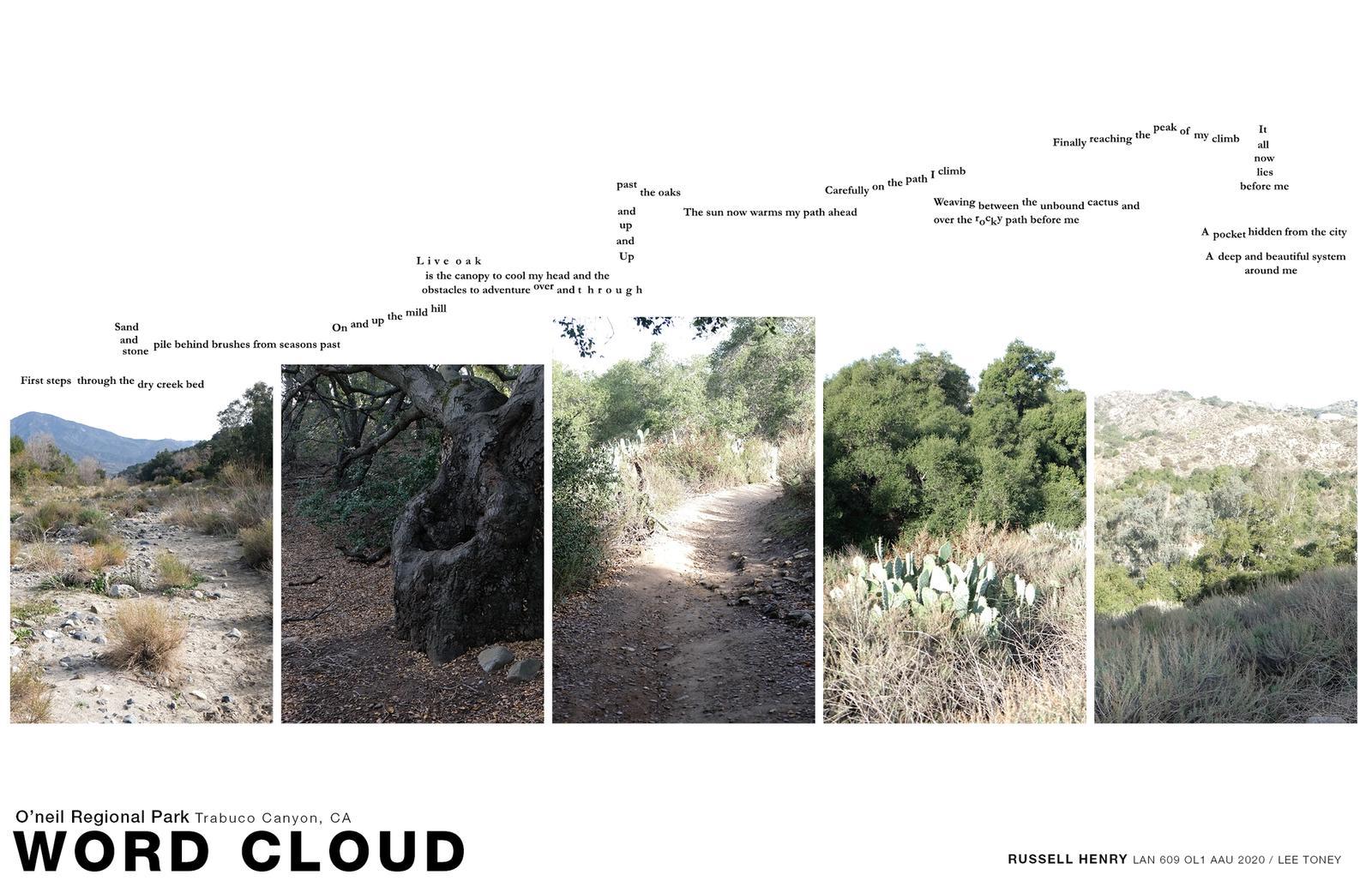Sense of Place - Word Cloud