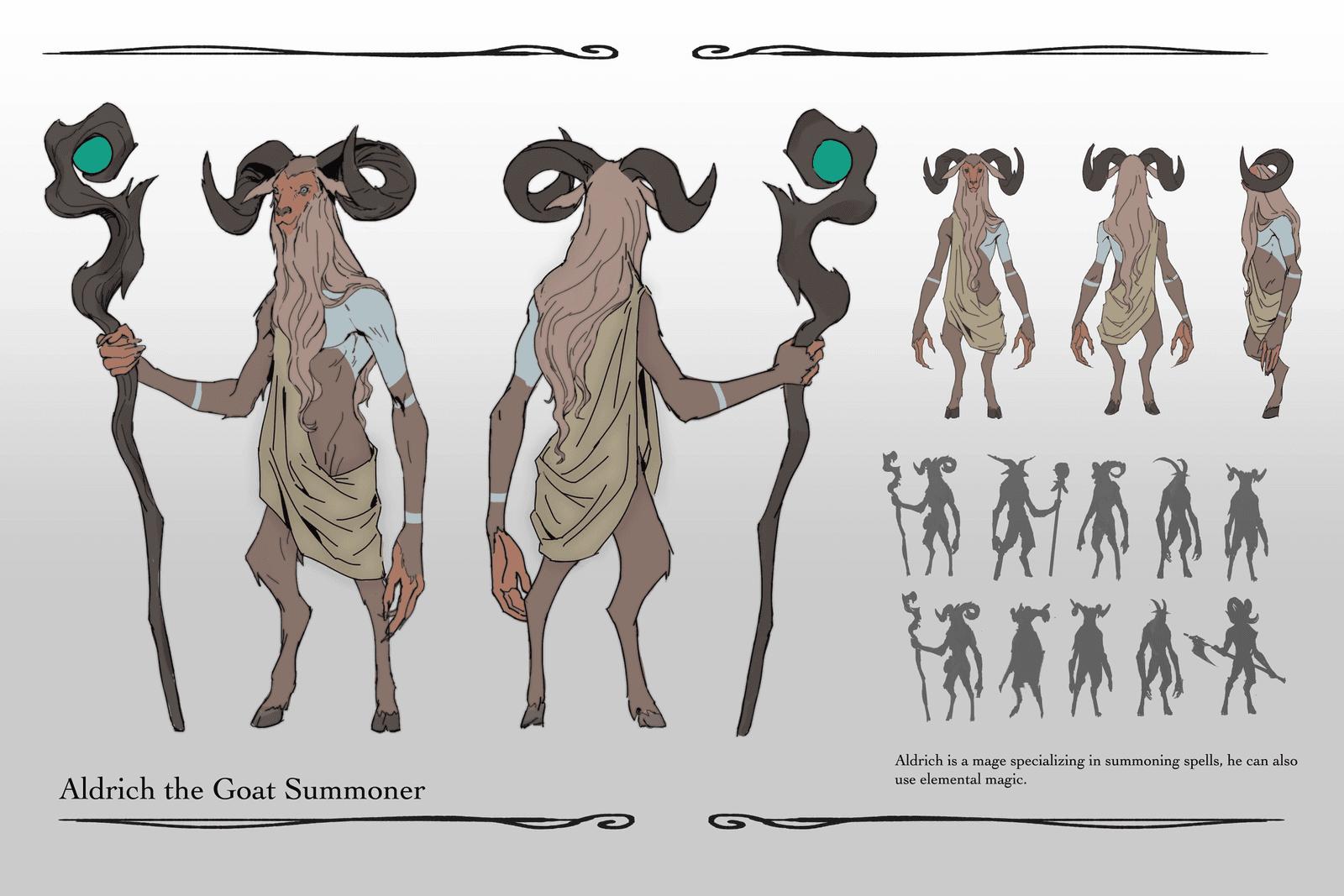 Alrdich the Goat Summoner