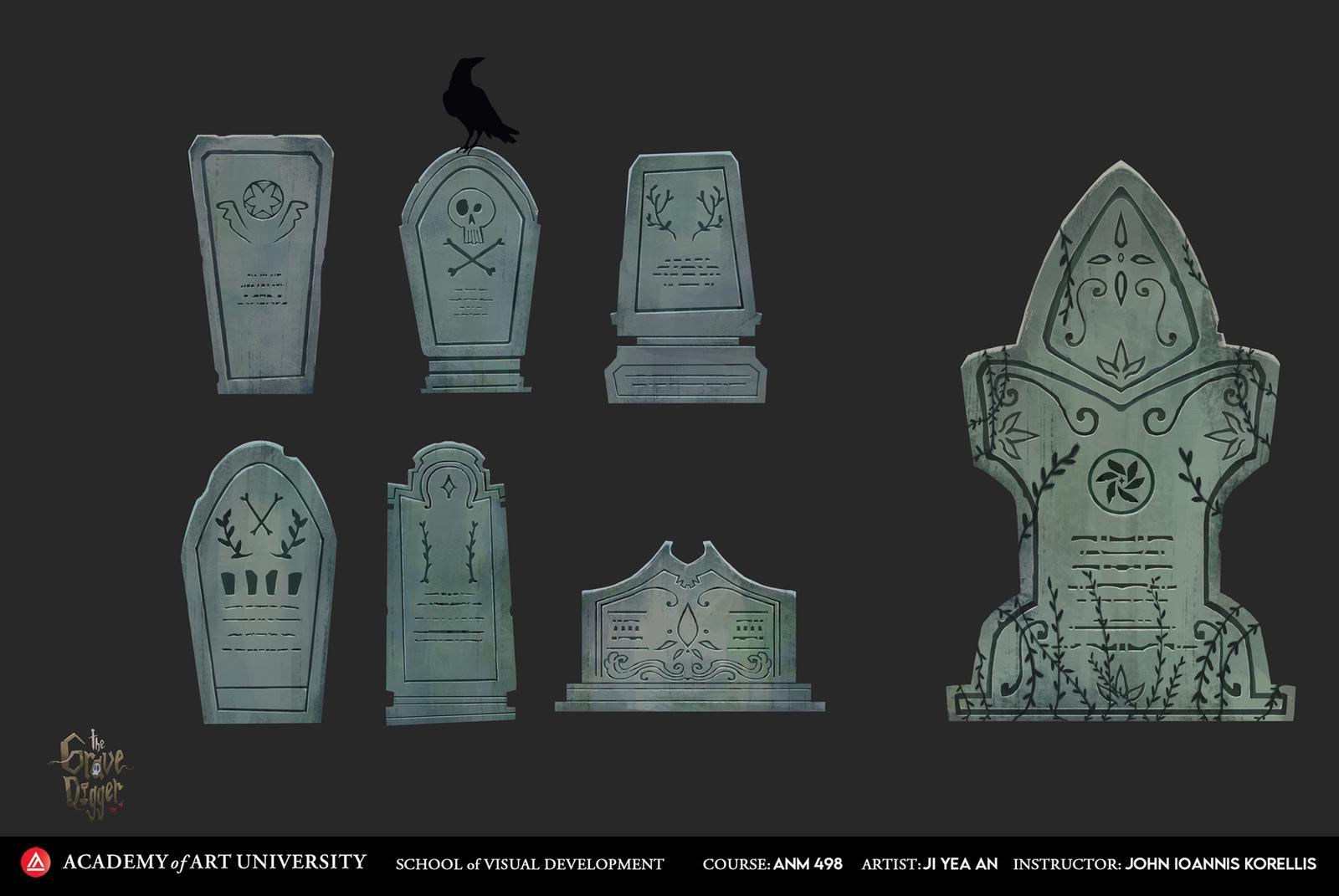 The Grave Digger: Tombstones - Ji Yea An