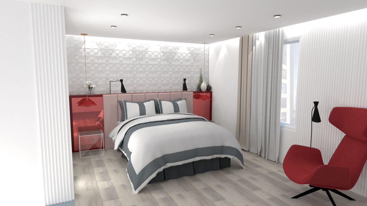 Pixel hotel - Bedroom