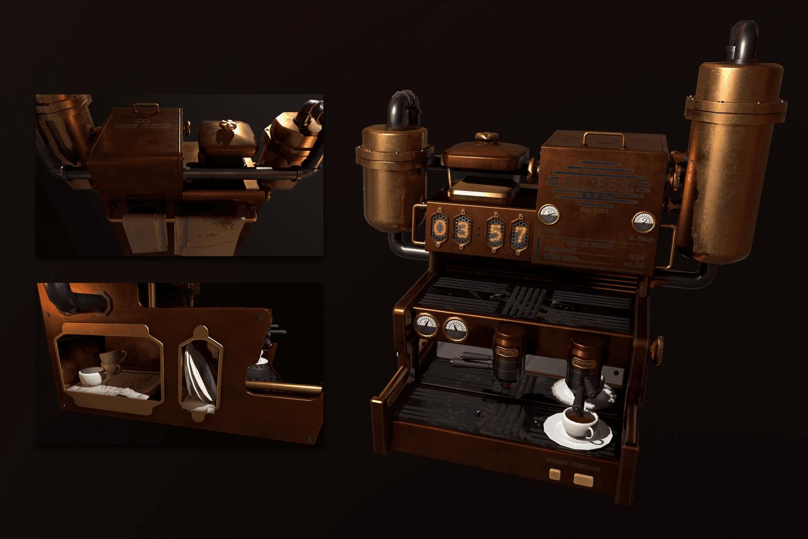 Overengineered Espresso Machine