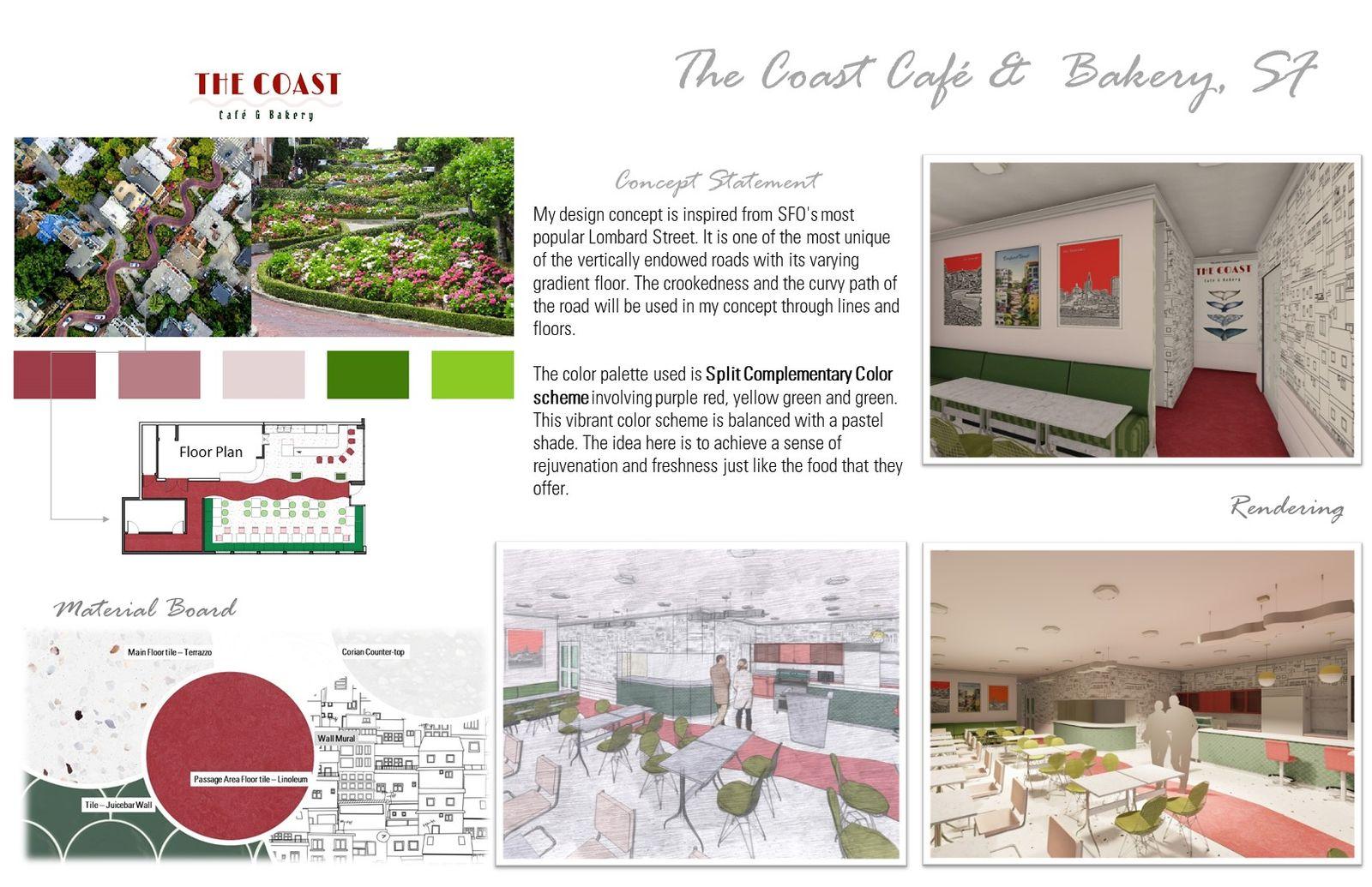 The Coast Café - Design Process