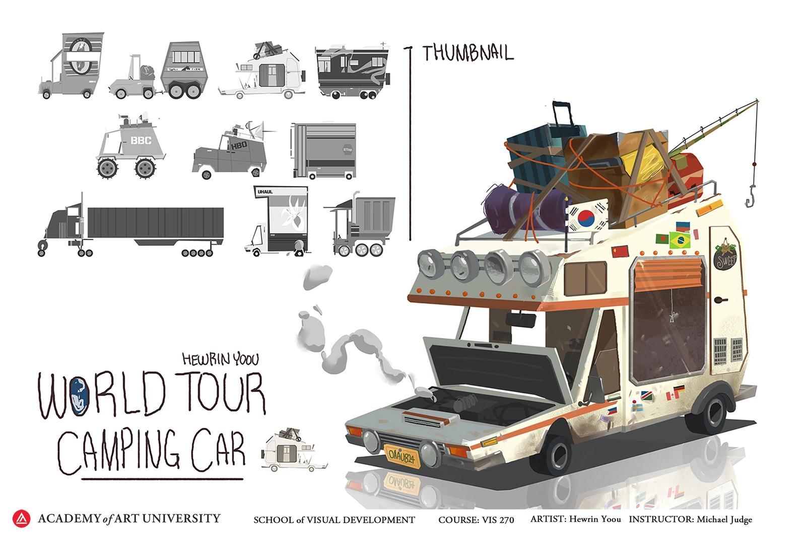 World Tour Camping Car - Hewrin Yoou