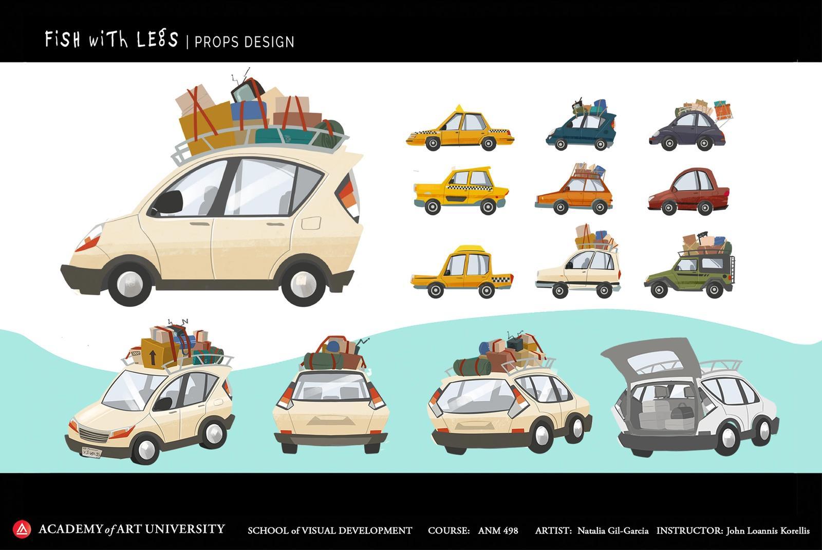 Fish With Legs Vehicle Design - Natalia Gil-Garcia