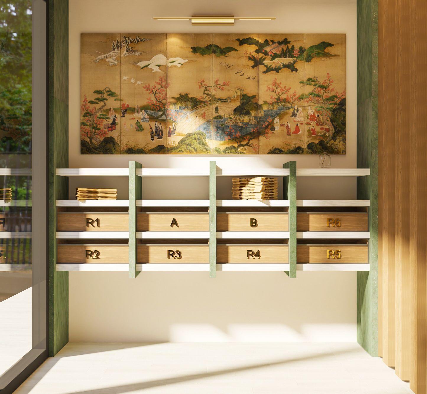 Himawari Residence - Lobby Mail Area