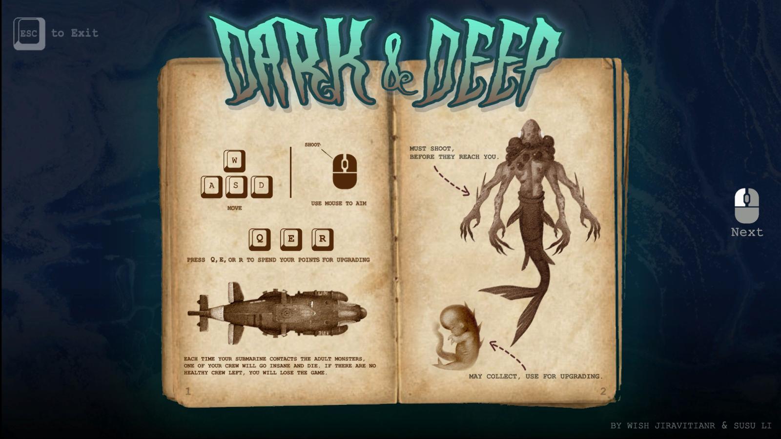 Dark & Deep - Screenshot 02