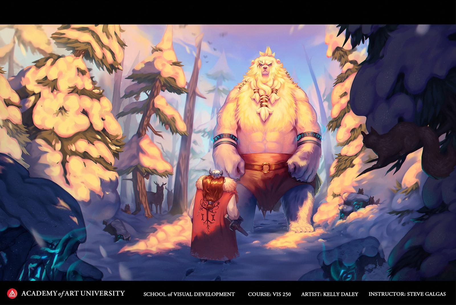 The Viking Meets The Leshii