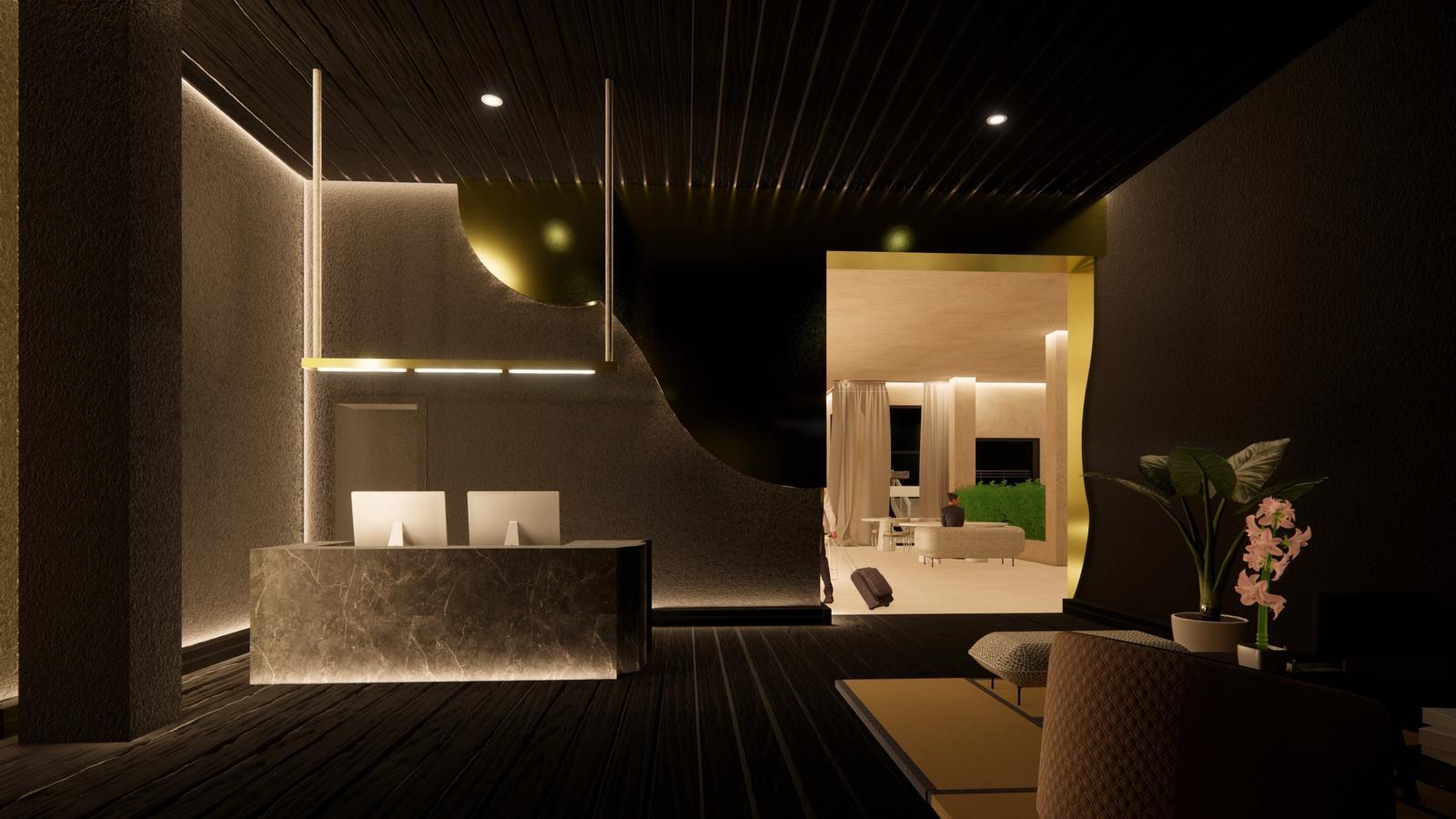 Lobby 2 - hotel b.