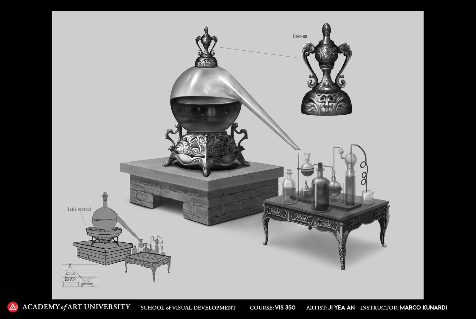 Jekyll and Hyde: Jekyll's Lab Equipment - Ji Yea An