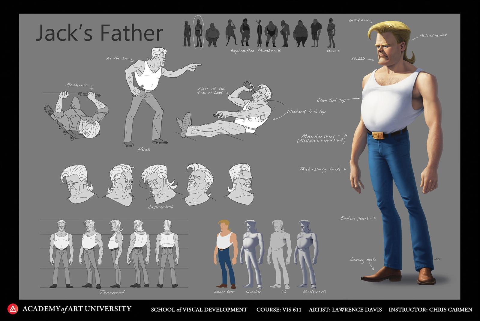 Jackson's Father