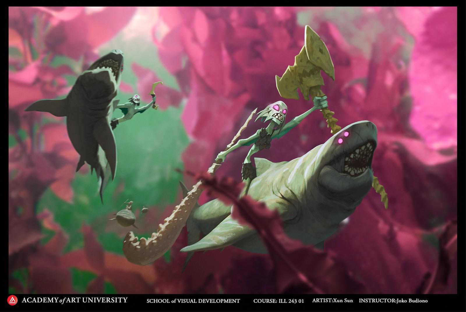 Mermaid - Xun Sun