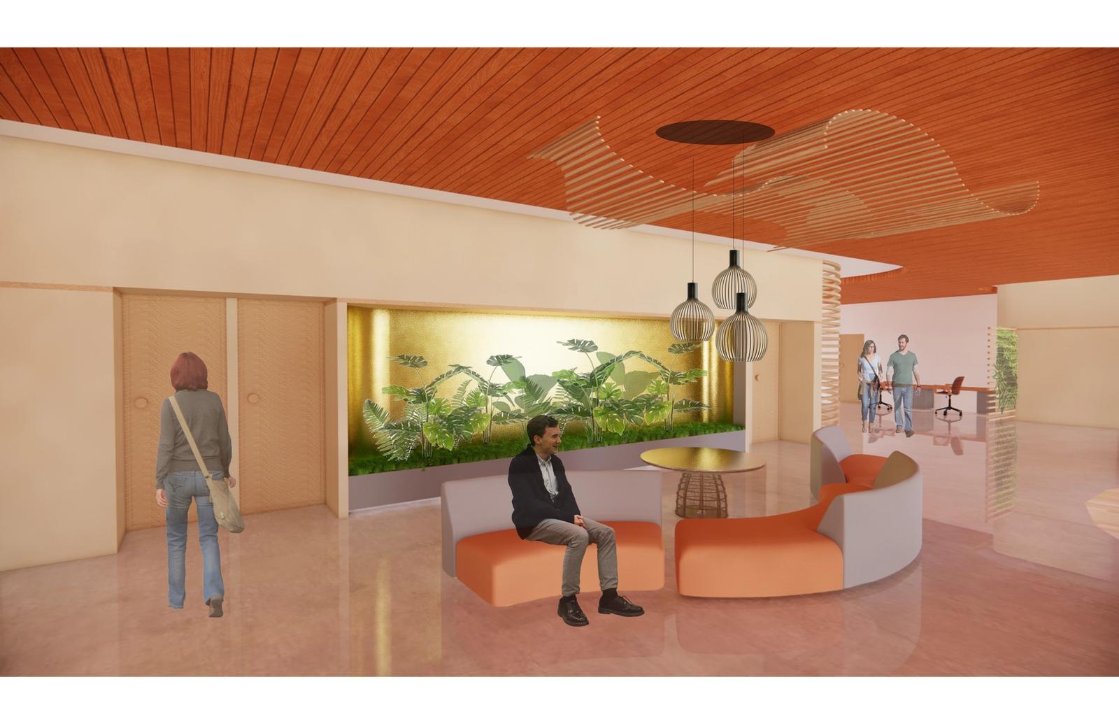 Community Centre Design - Student Lounge