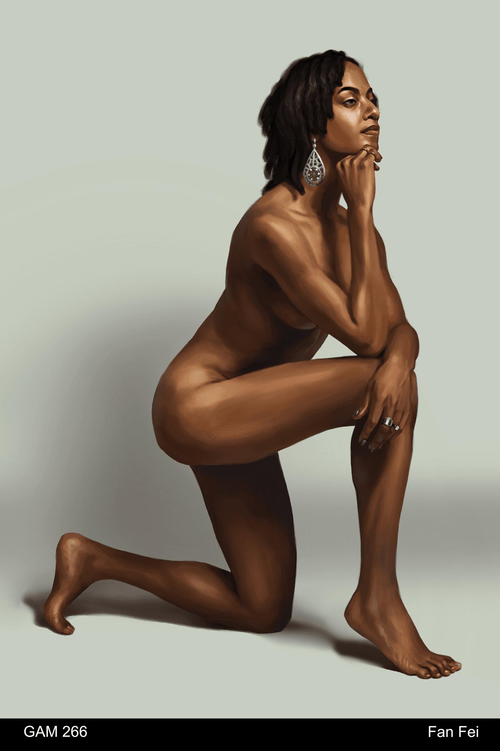 Nude Figure Painting
