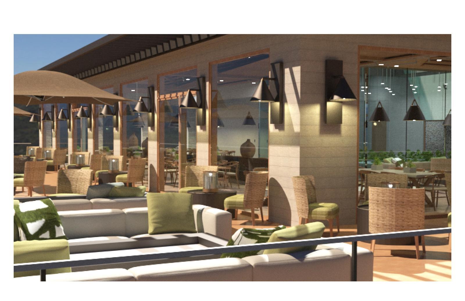 Statera Wellness Retreat - Eden Restaurant Terrace