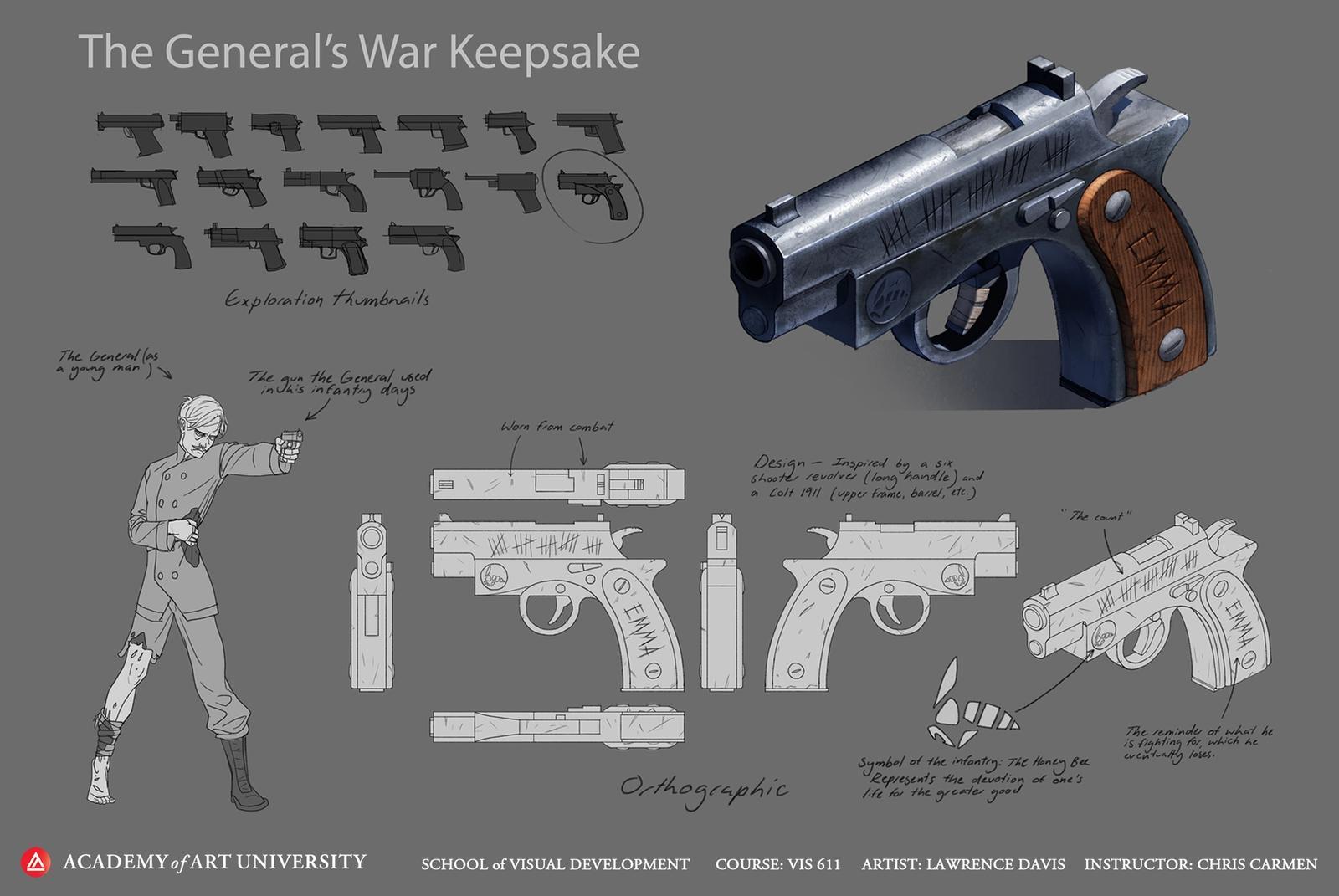 The General's War Keepsake