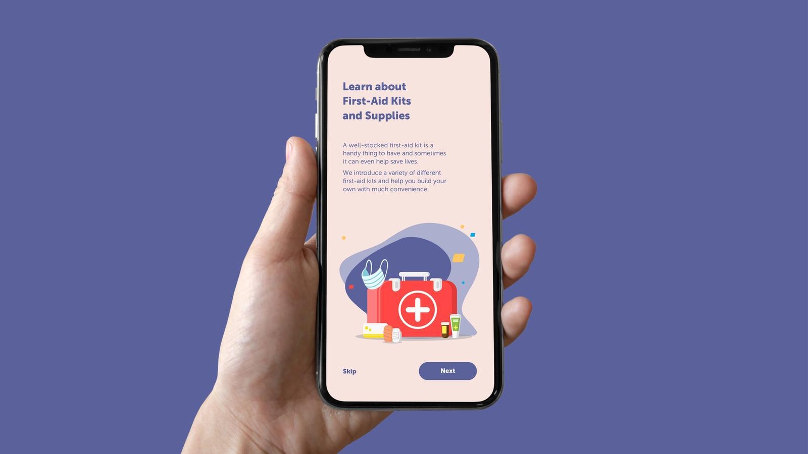 Medst // First-Aid App