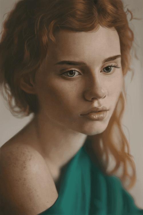 Fair Skinned Portrait