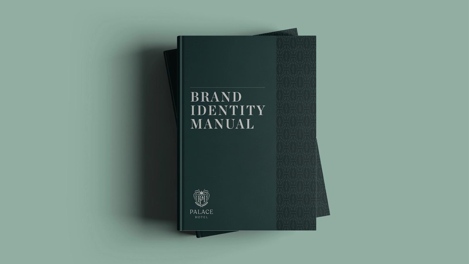 Palace Hotel Branding // Identity Manual