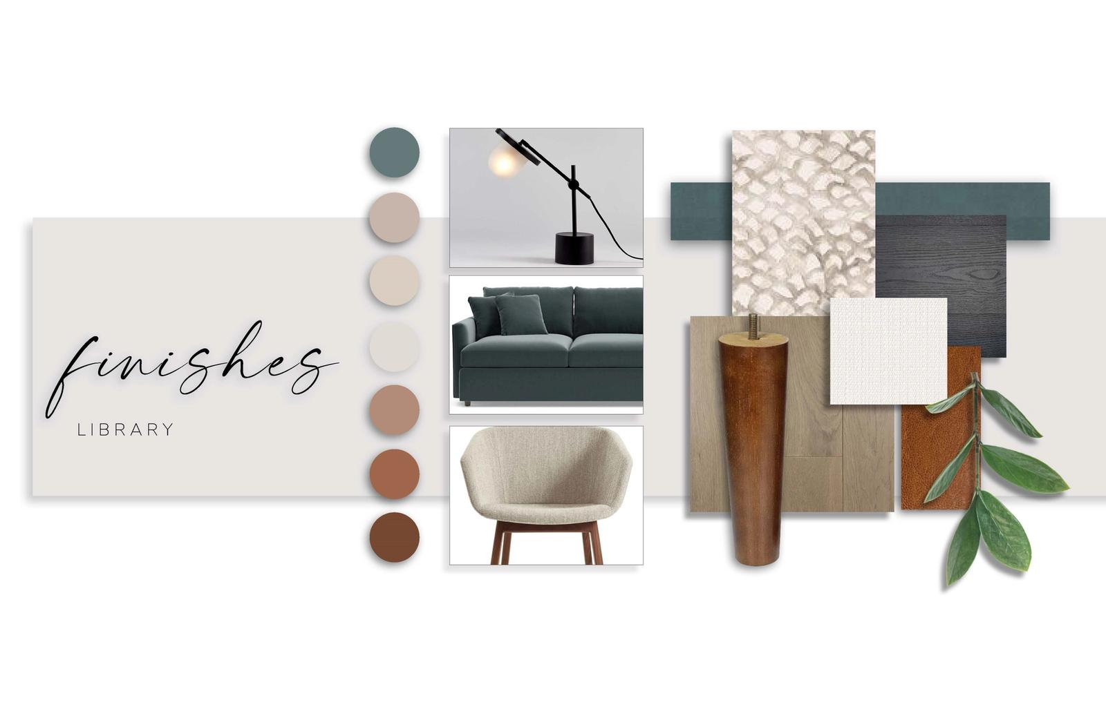 Finishes - Library