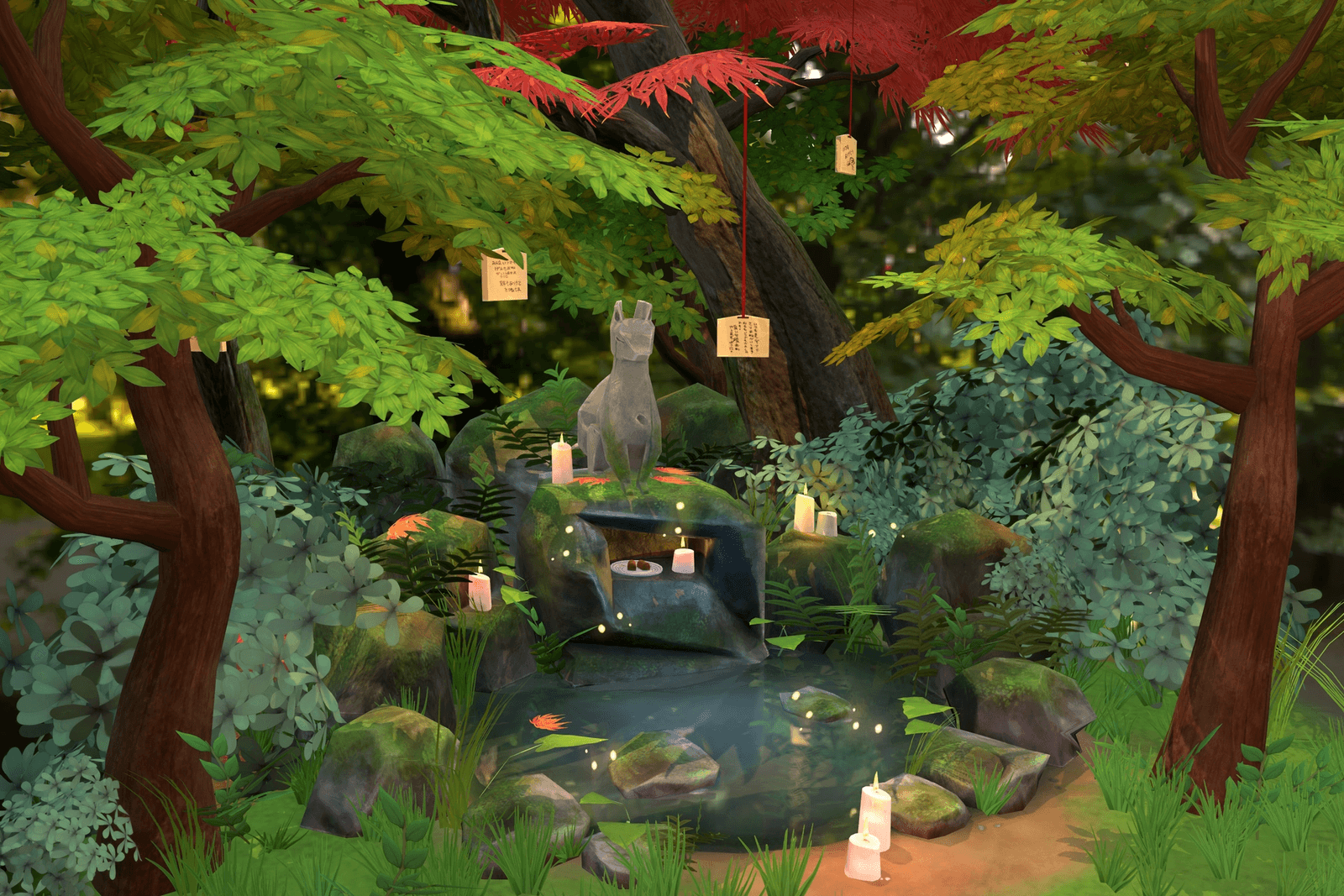 Forest Inari Shrine