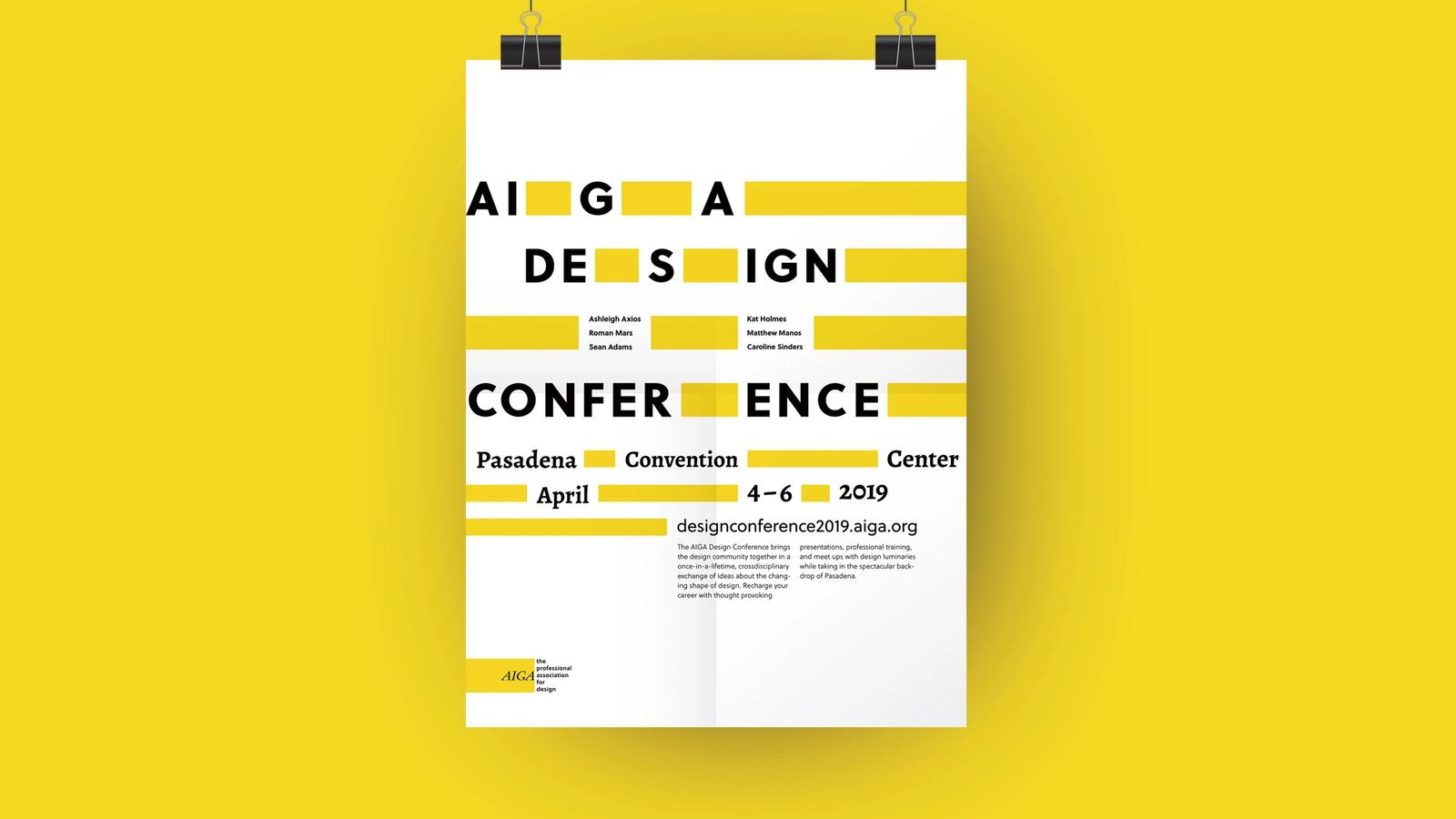 AIGA Conference // Event Poster