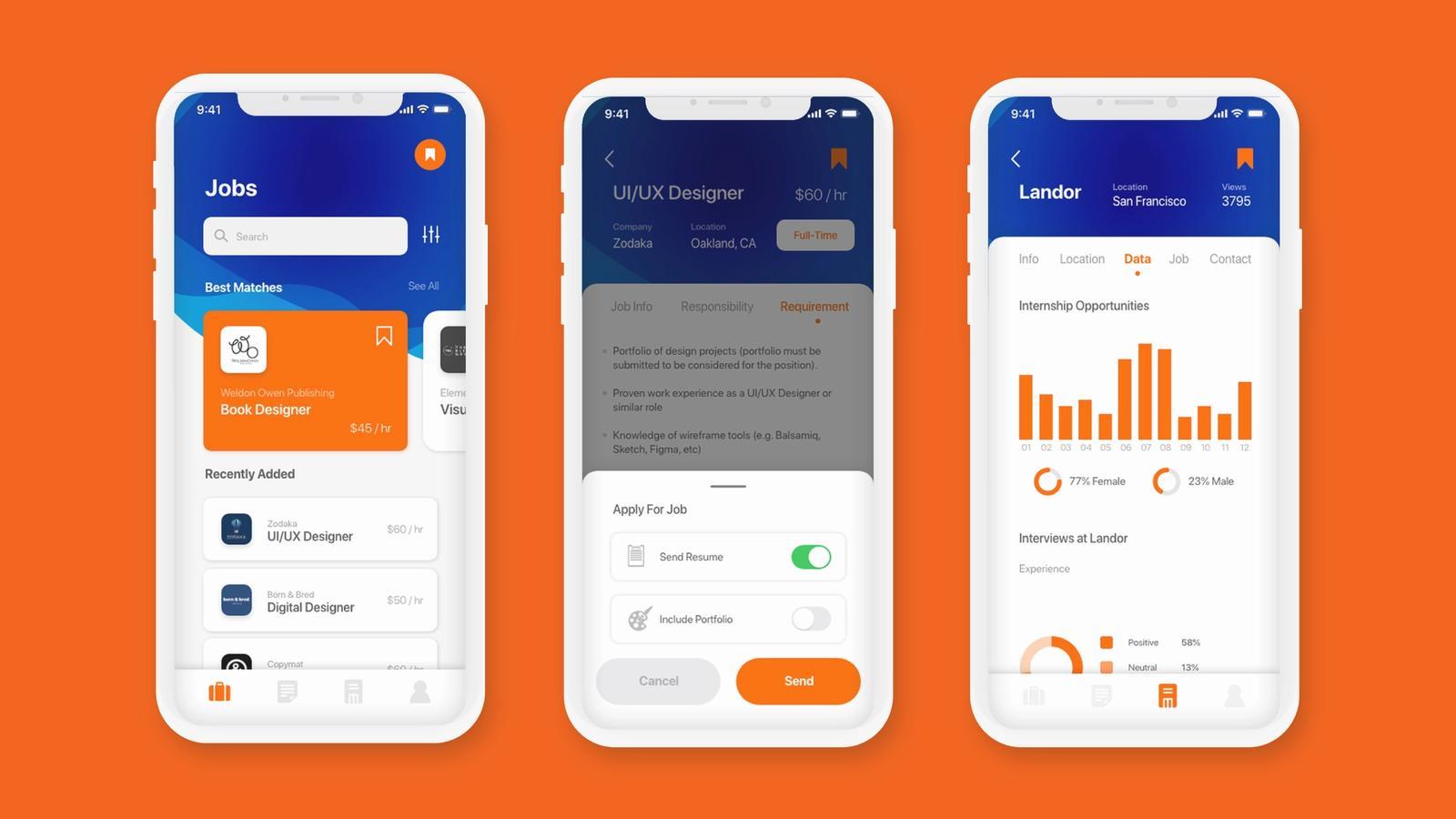 Artem App // Job Finder for Artists