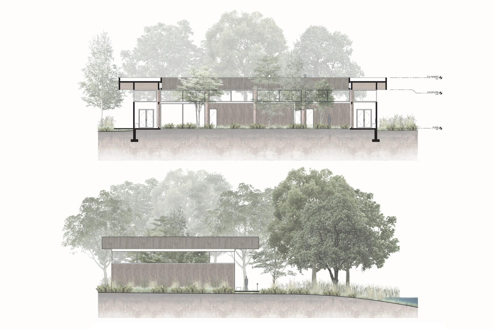 Eco-Tecture - Unifying Ecology with Architecture - Sections