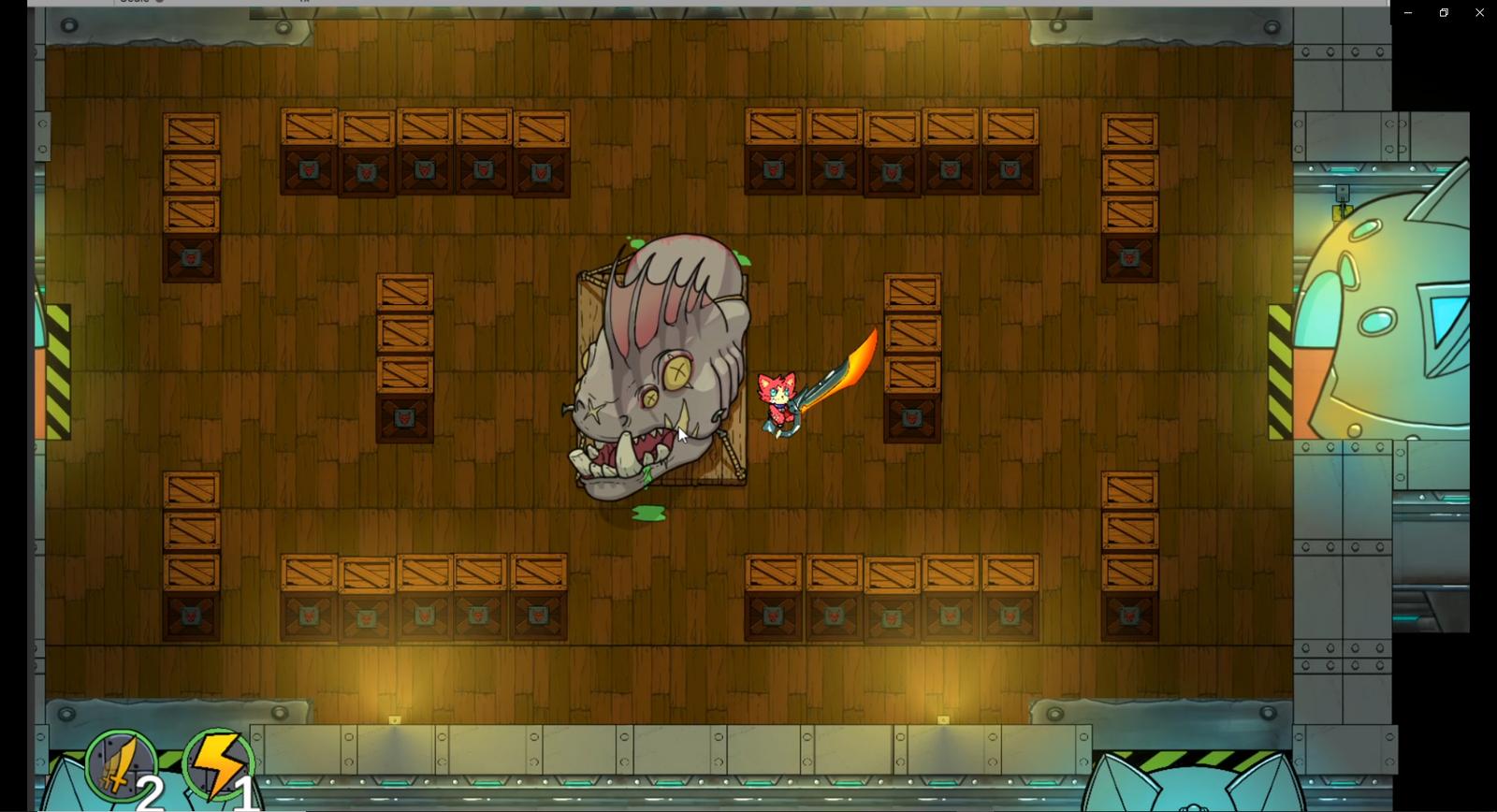 Cat Space Pirate - Screenshot 02