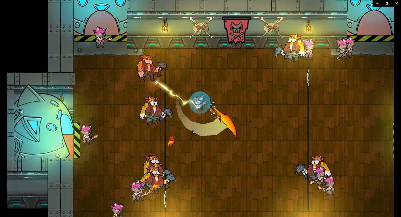 Cat Space Pirate - Screenshot 01