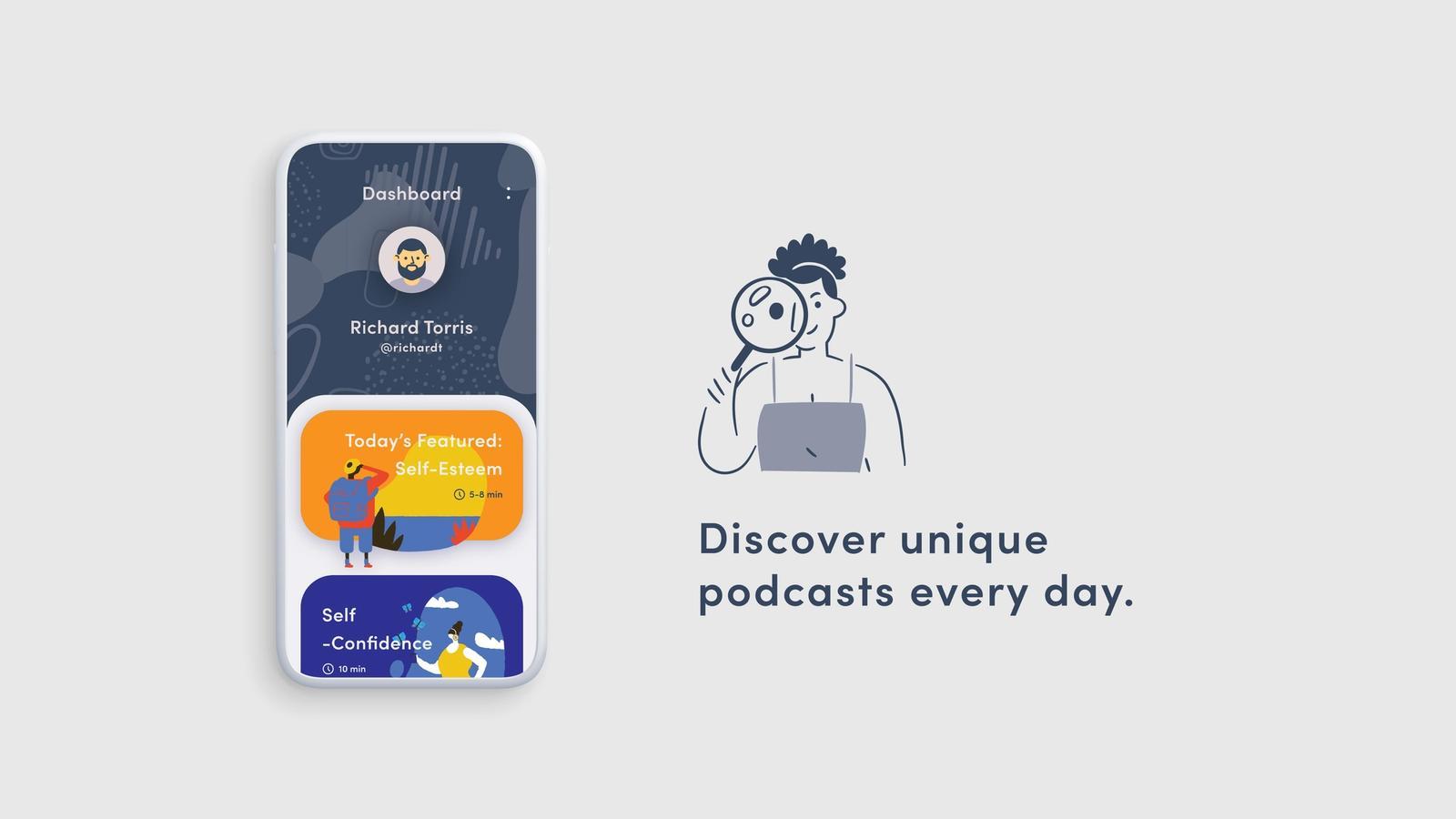 Relx // Podcast App