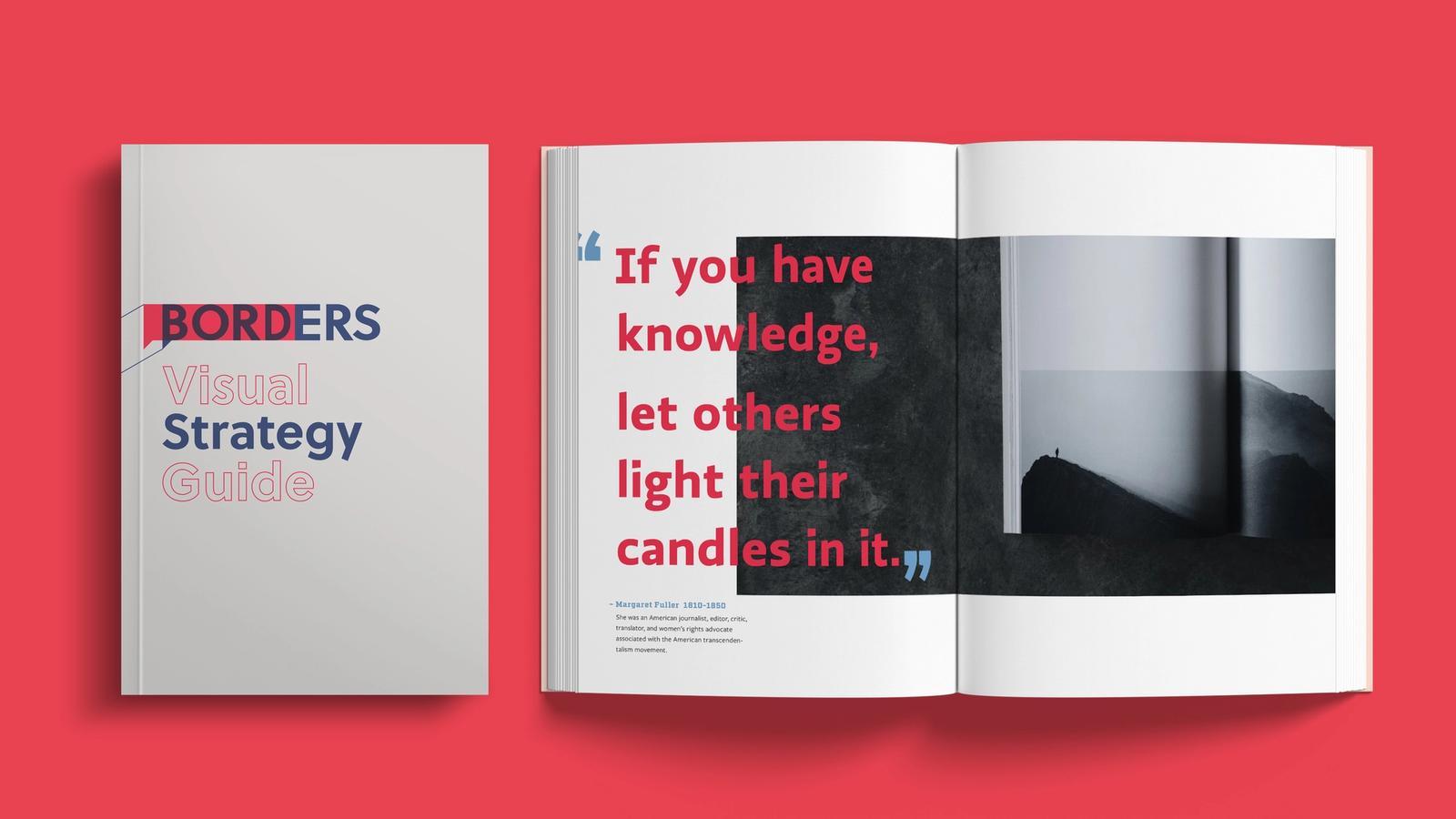 Borders Rebranding // Visual Strategy Guide