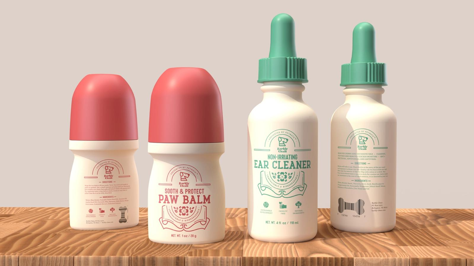 Barkly Clean // Pet Cleaner Packaging