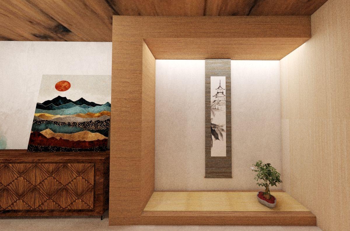 Japanese Shrine Details