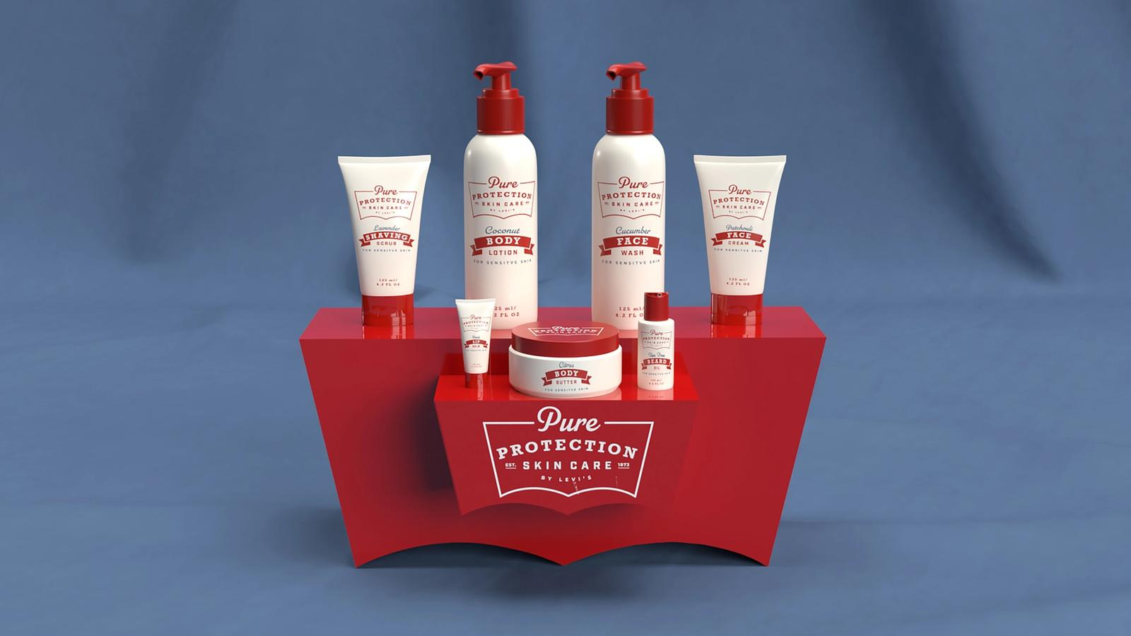 Pure Protection Skincare by Levi's // In Store Display