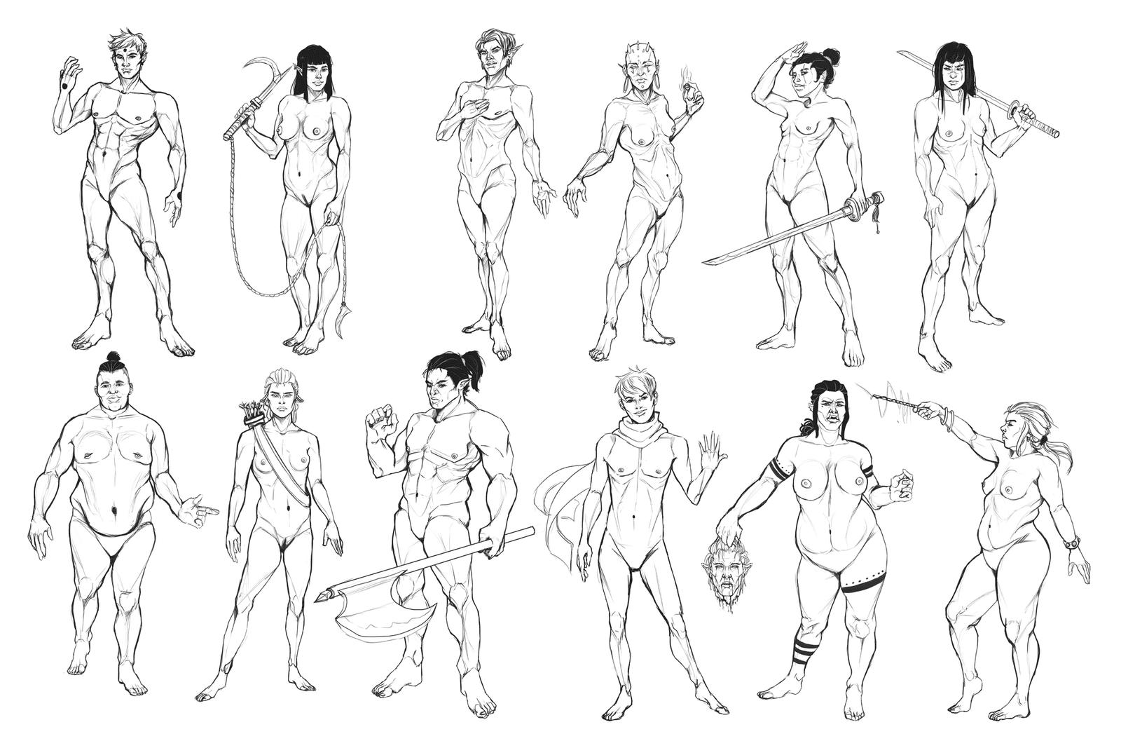 Body Type Studies