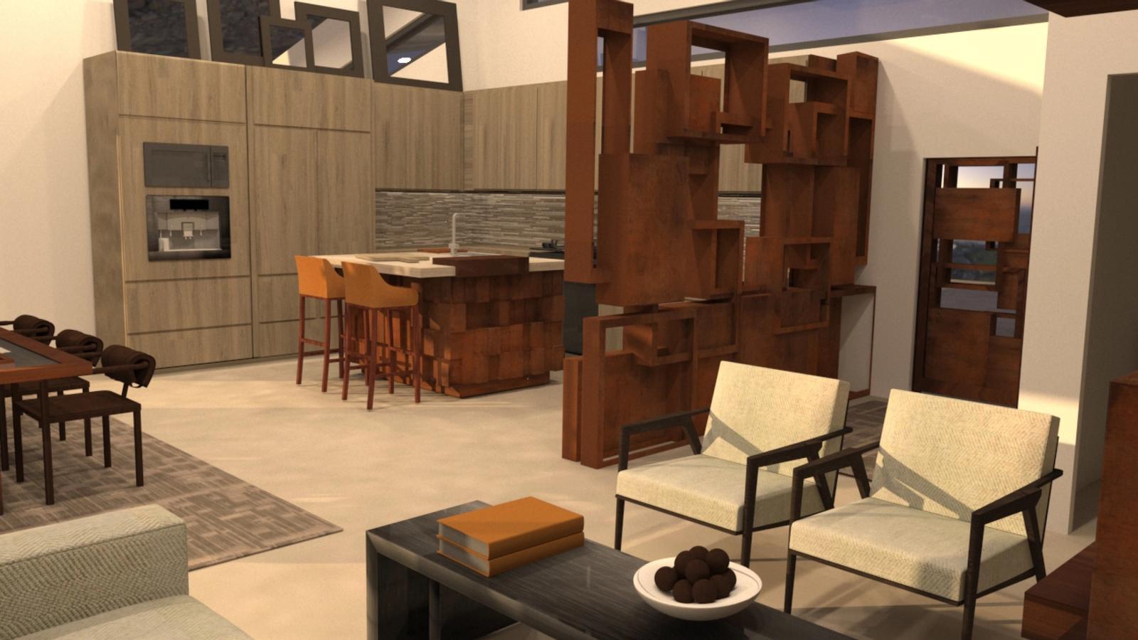 Artist Studio Loft - Kitchen at Noon