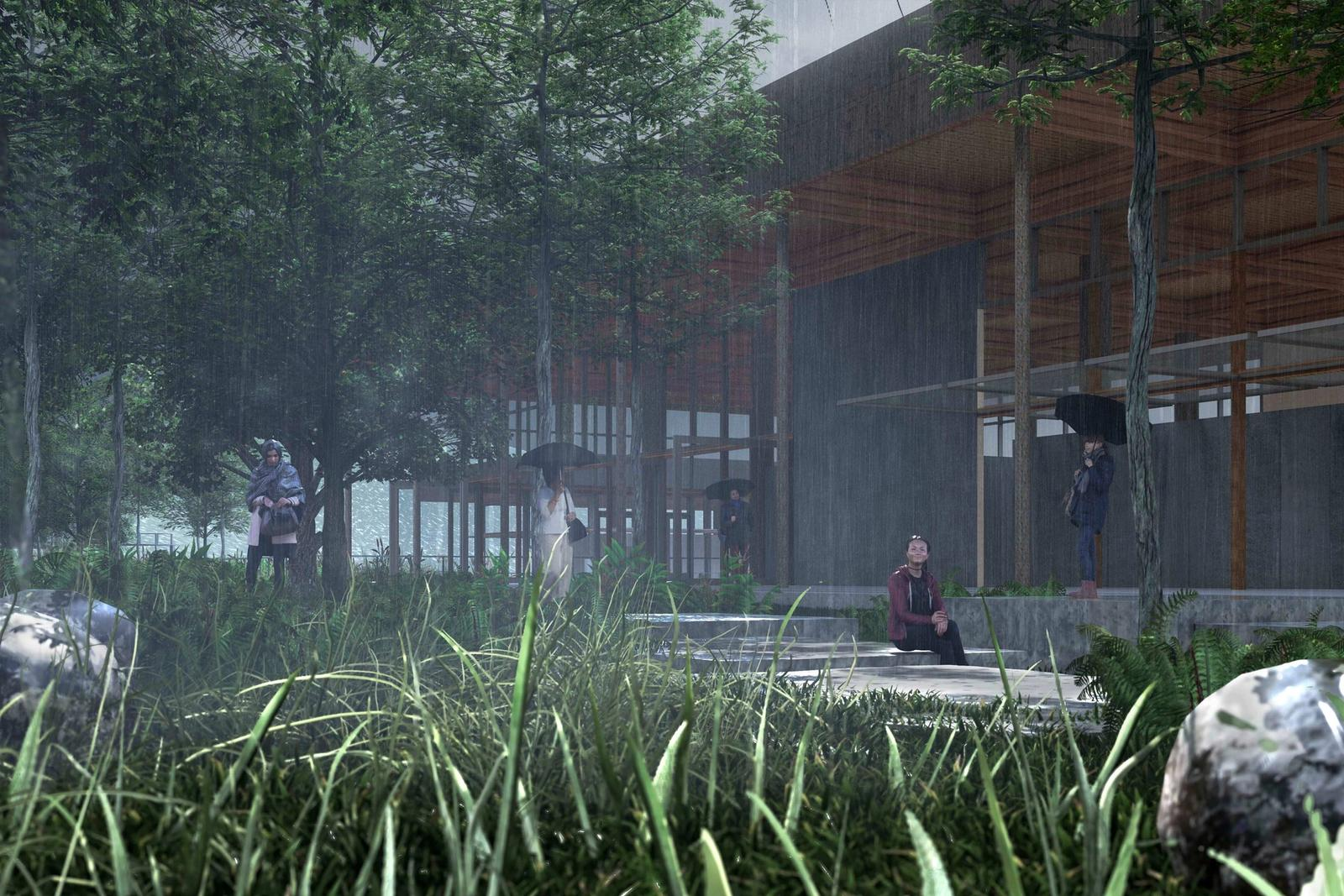 Eco-Tecture - Unifying Ecology with Architecture - Cove View of Project