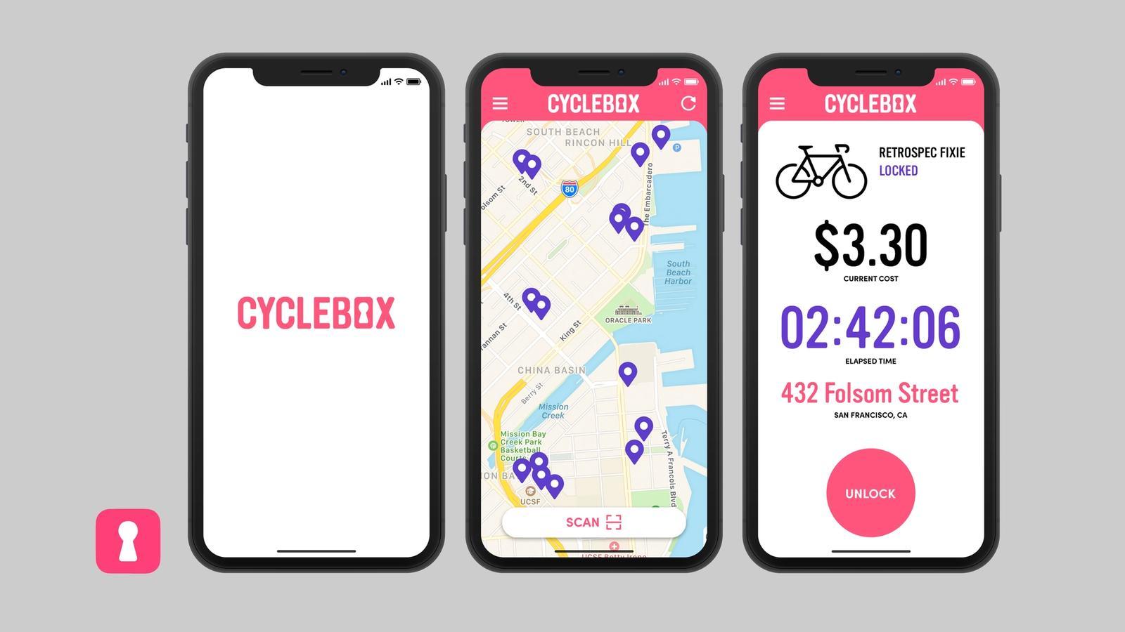 Cyclebox // Mobile App