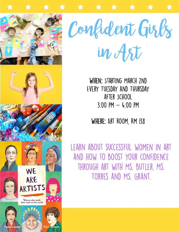 Confident Girls in Art