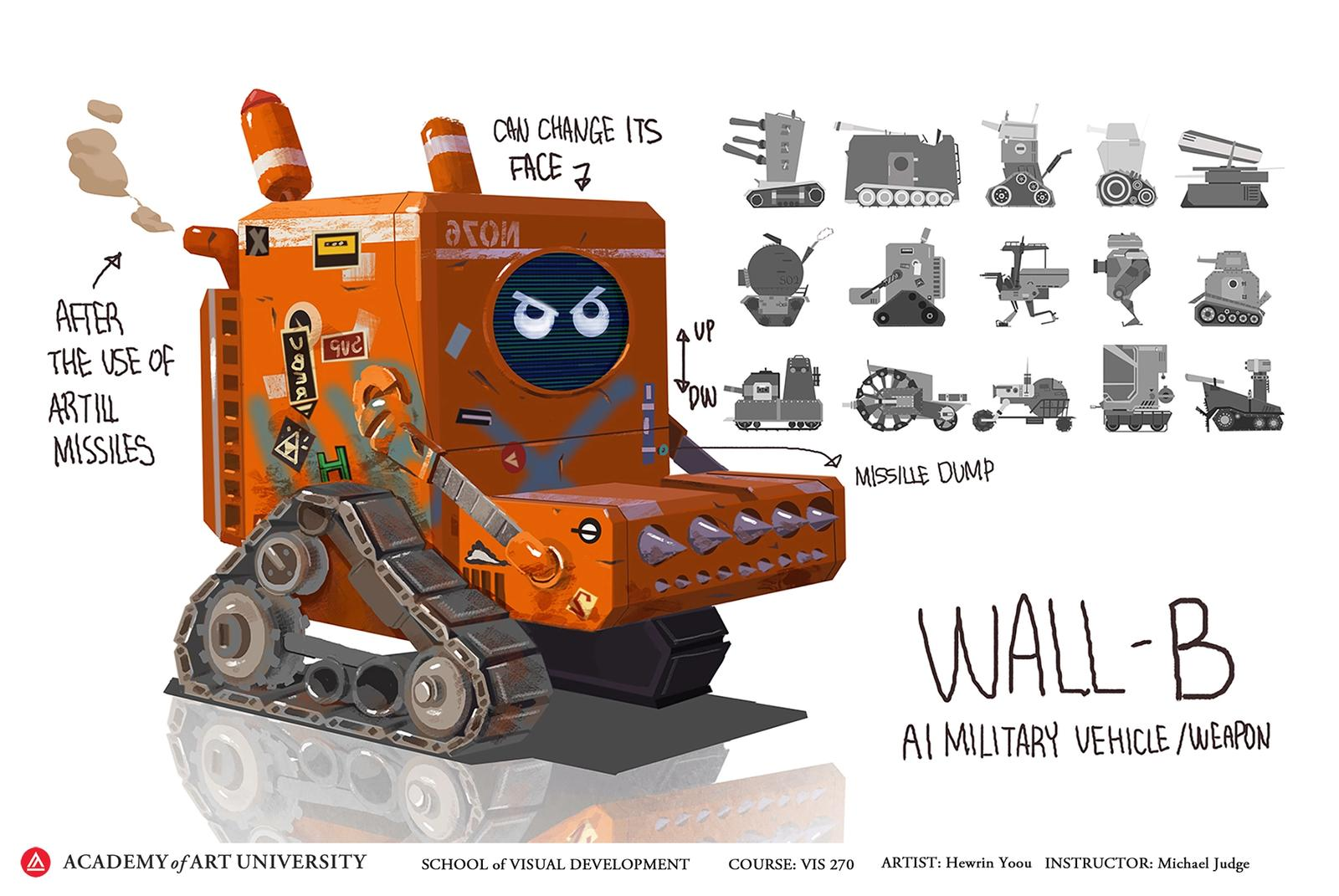 Wall-B - Hewrin Yoou
