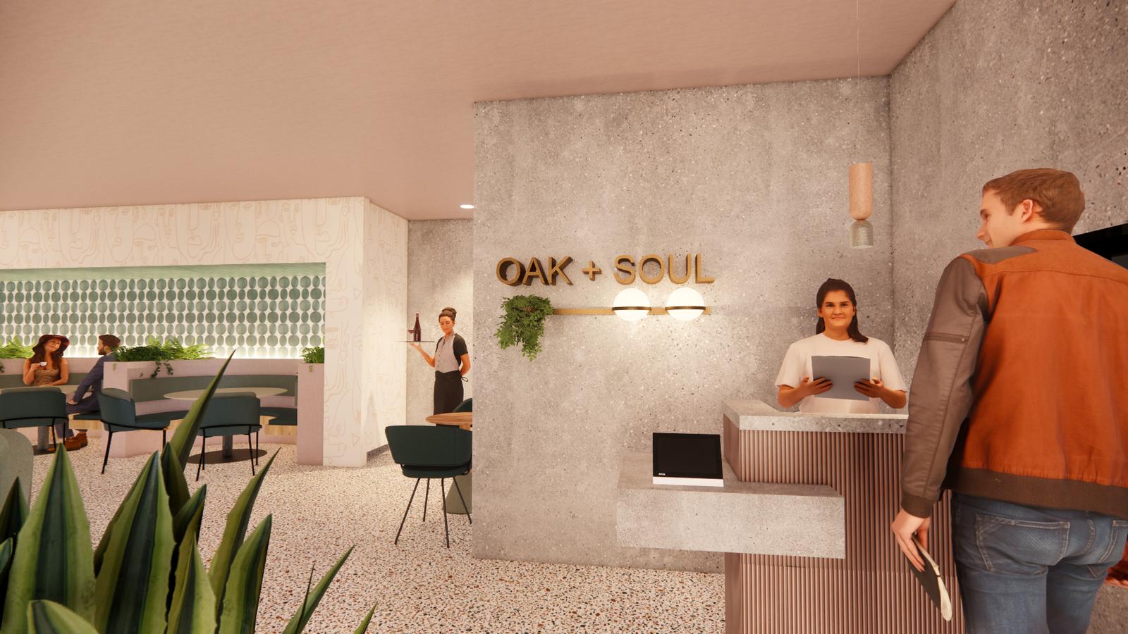 Hella Better Hotel - Oak + Soul Restaurant