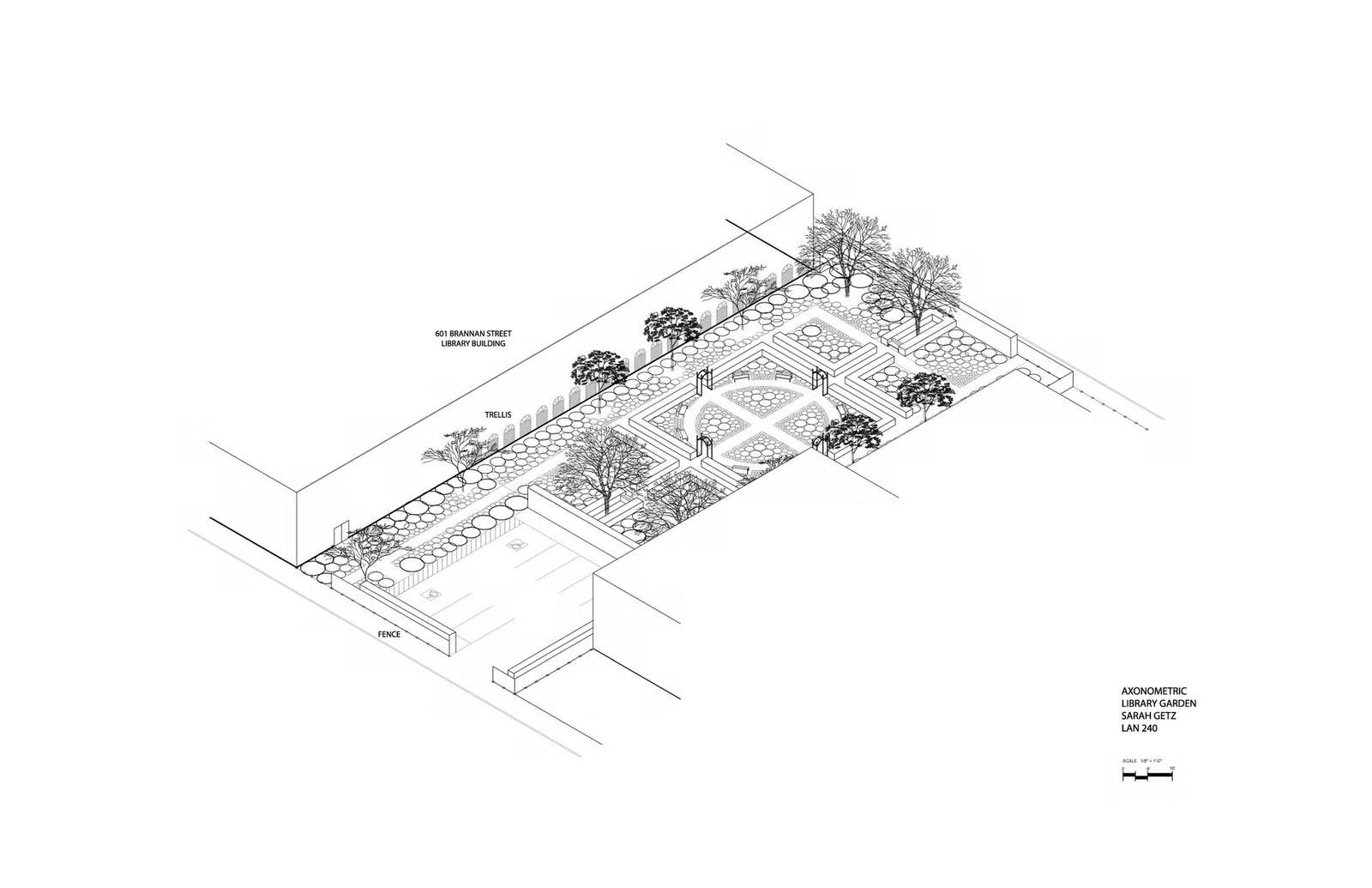 Library Garden for 601 Brannan Street Site 23