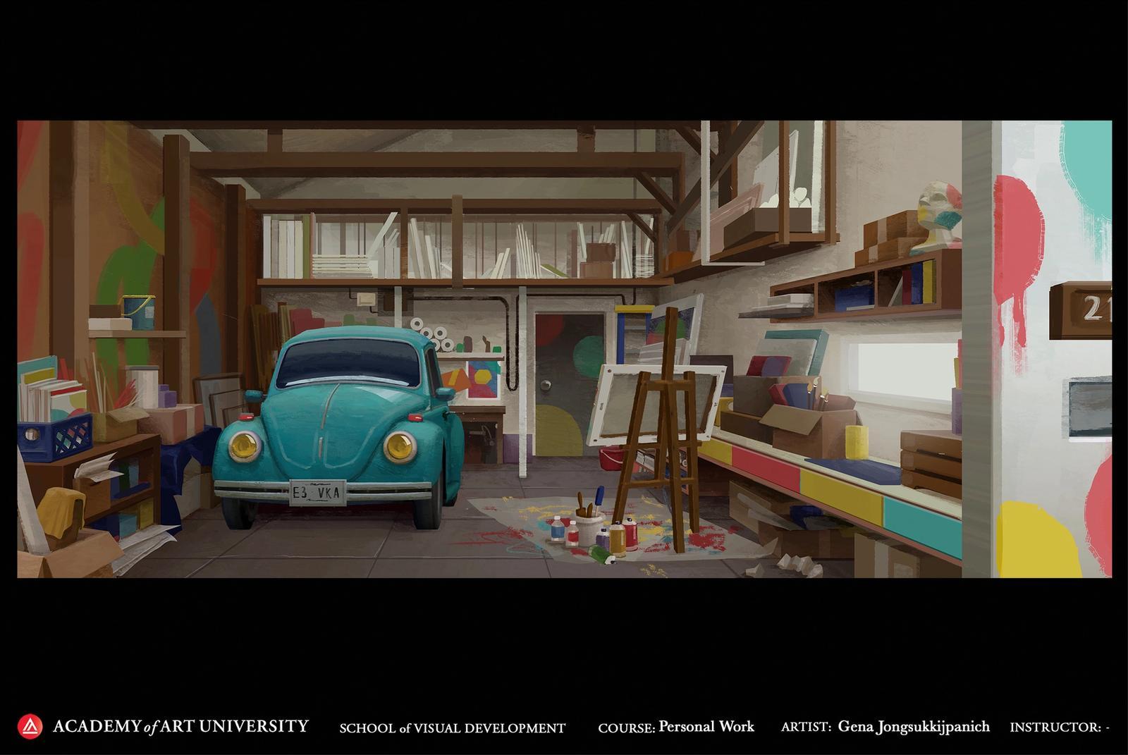 Artist's Garage