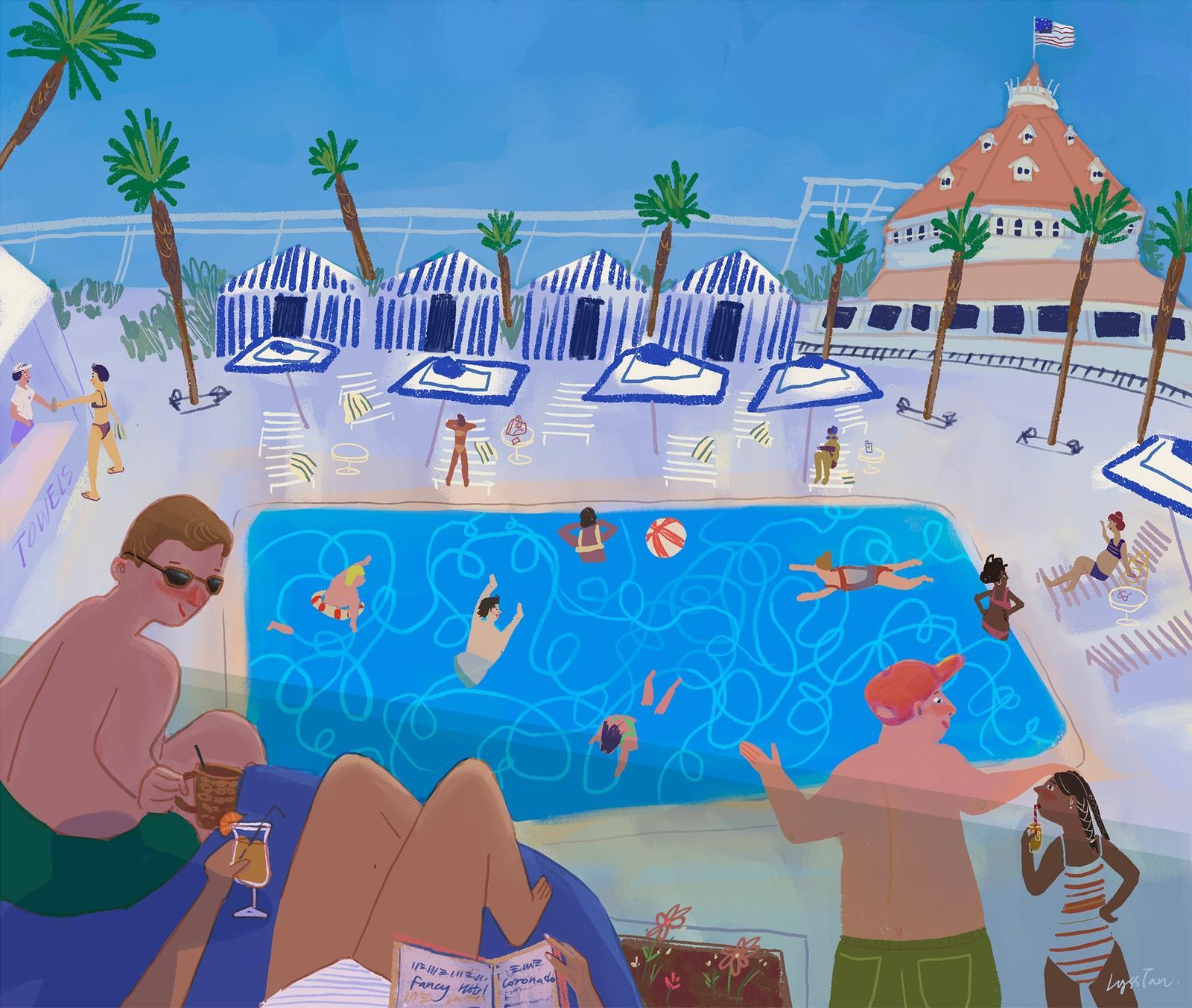Pool at Del Coronado