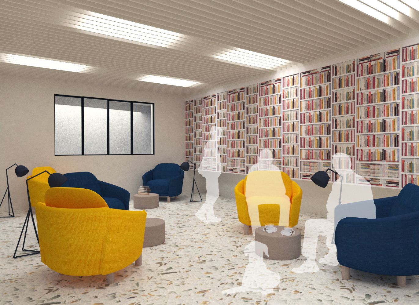 The Crossroads Residential Community - Seating Area